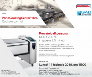 11/02/2019 DEMO VARIOCOOKINGCENTER