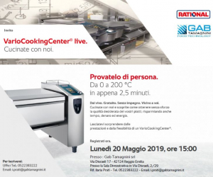 20/05/2019 DEMO VARIOCOOKINGCENTER