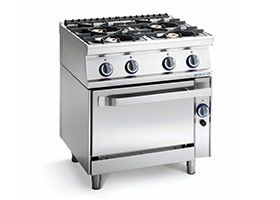 Cucine a gas, elettriche e ad induzione
