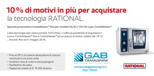 EXTRA SCONTO DEL 10% - RATIONAL